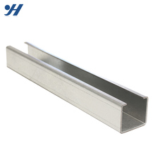 "1-5/8"" Corrosion Resistance c type channel steel bar standard sizes"