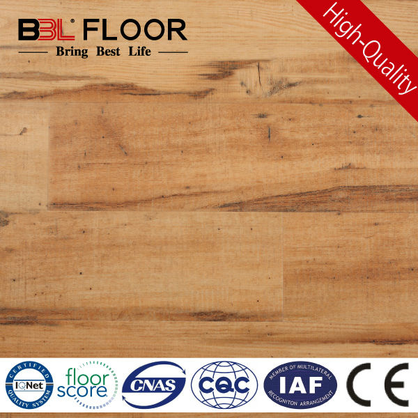 2.5mm 5mm Desert Oak Carpenter Handscrape solid acacia wood flooring BBL-98171-1