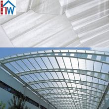 solar glass roof panels Balcony Cover Transparent Plastic Roof Tile