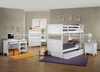 Wooden Bunk Bedroom Set