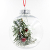 High Quality Decorative Clear Plastic Christmas