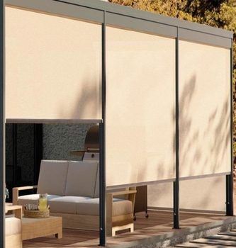 Window Treatments Lowes Outdoor Roller Blind For Sliding Glass Doors In The 2018