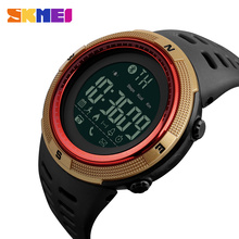 Factory Promotion SKMEI 1250 Bluetooth Calorie Pedometer Function 50M Waterproof Digital Sport <strong>Smart</strong> Wrist <strong>Watch</strong>