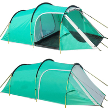3-4 Persons Waterproof Outdoor Camping Travelling Family Party Event Tent One Bedroom & One Living Room