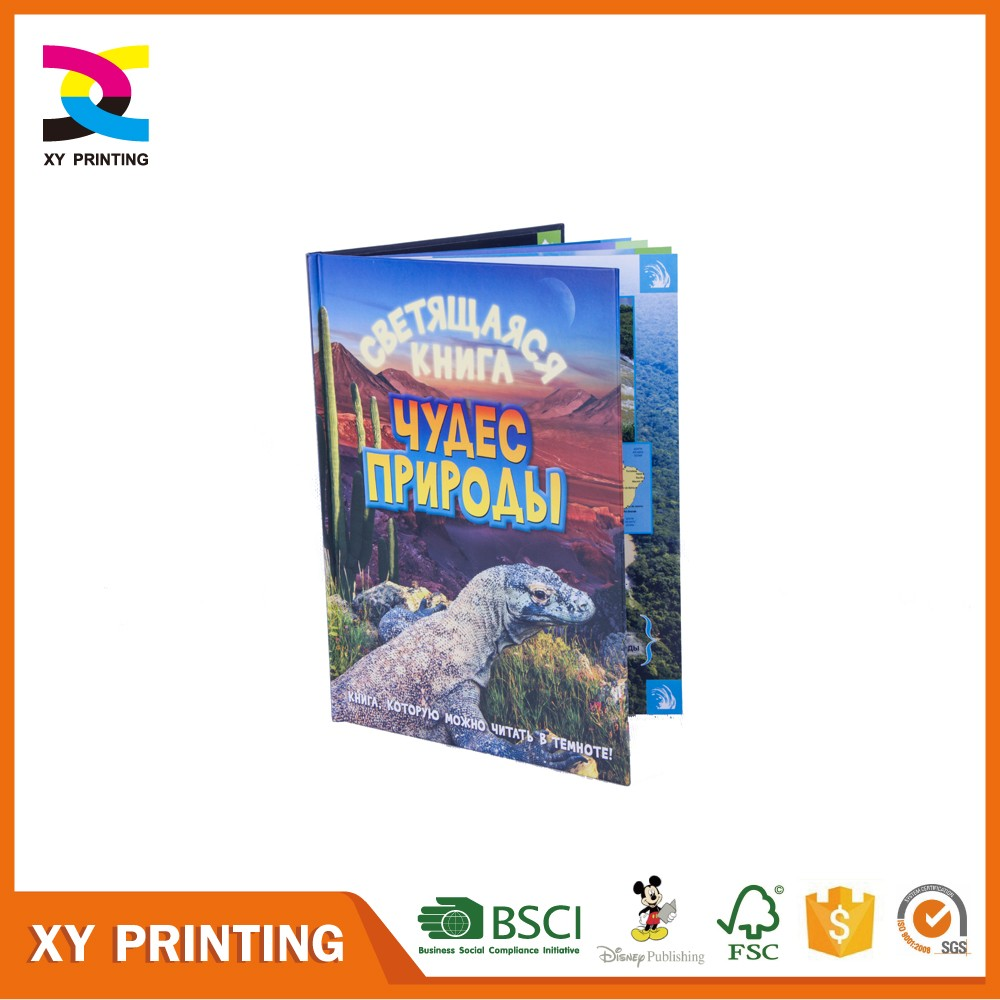 Eco friendly hard cover perfect children book for kids printing