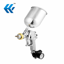 Hot Sale 600ml Aluminum Cup Handheld Hvlp Electric Air Spray Gun