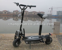 2013 Hot-sale CE 500/800/1000W powerful easy Folding New Suspension Motor electric scooter, CS-E8002