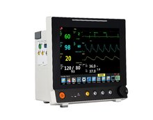Waterproof 12 inch touch screen vital signs monitor
