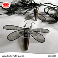 Christmas metal dragonfly led string lights decorative light