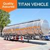 TITAN widely used 3 axle 35000 liters semi fuel tanker trailer for sale