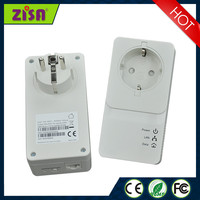 Zisa Power Line Communication 1200Mbps PLC powerline adapter