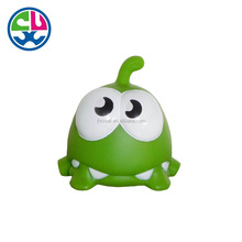 Custom plastic Fashion rubber Frog PVC animal baby Bath Toys