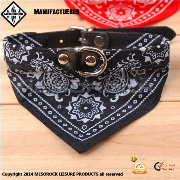 Wholesale Adjustable Small Puppy Fashion Scarf Pet Neckerchief Dog Collar