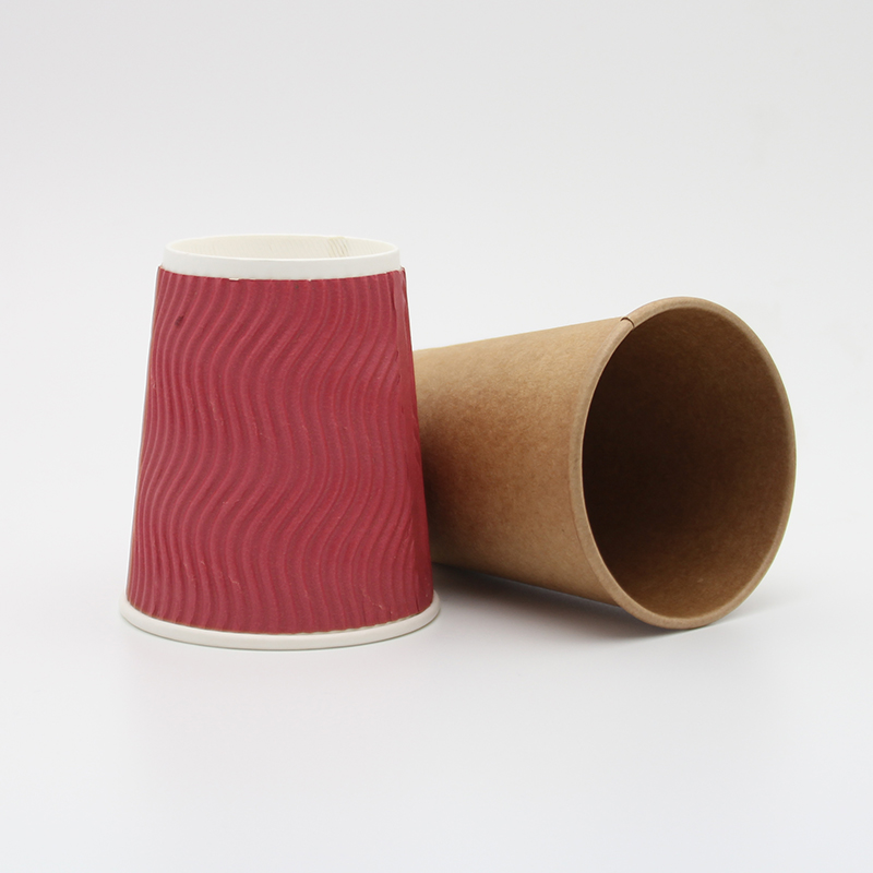 Virgin wooden pulp PE coated yeti coffee Tea paper cup