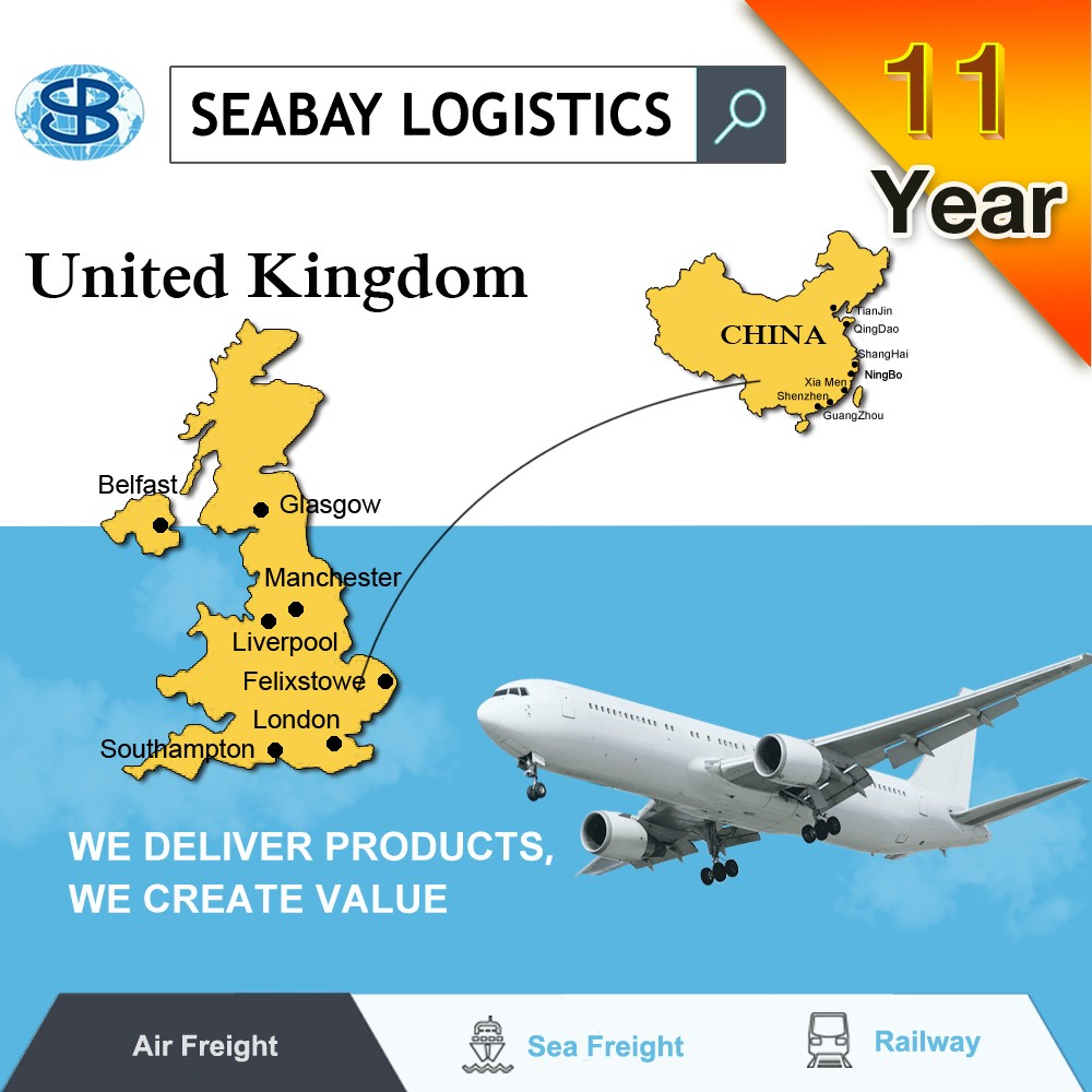 air cargo shipping agent to uk