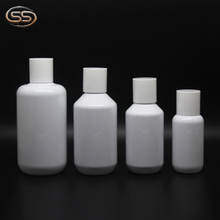 40ml,50ml 80ml 100ml 120ml 180ml 250ml hot selling white pet lotion bottles with pump