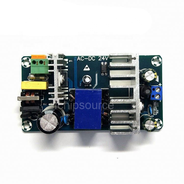 Isolated switching power supply AC 100-240V 220V to DC 24V 4A 6A AC DC step converter module