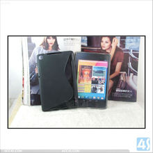 S Shape Design TPU Case for Google Nexus 7 2 Android Tablet P-GGNEXUS7IITPU001