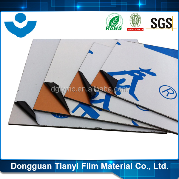 SGS Certificated No Residue Easy Peel Off Construction Film