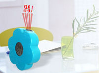 Flower projection alarm clock