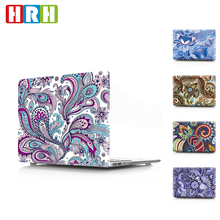 Paisley Flower pattern laptop hard plastic cases for macbook air 13 15 Touch Bar