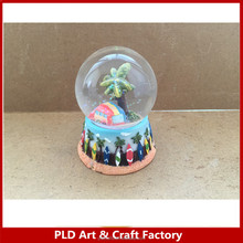 rabbit snow globe Easter gifts/resin water globe/custom made snow globes