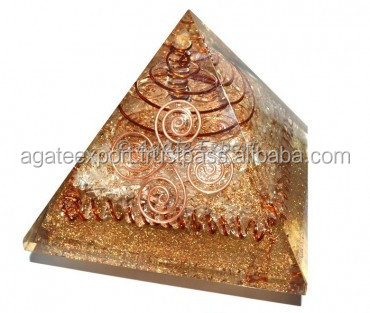 Crystals Choko Reiki Orgone Power Pyramids with Po
