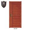 Veneers wooden modern flush doors design with horizontal grain