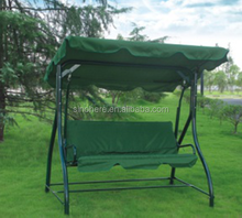 Three Seat Garden Swing Chair With Canopy