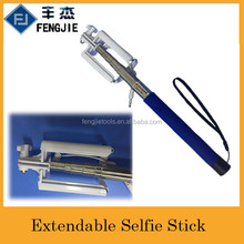 Extendable Cable Take Pole Selfie Stick For Sale