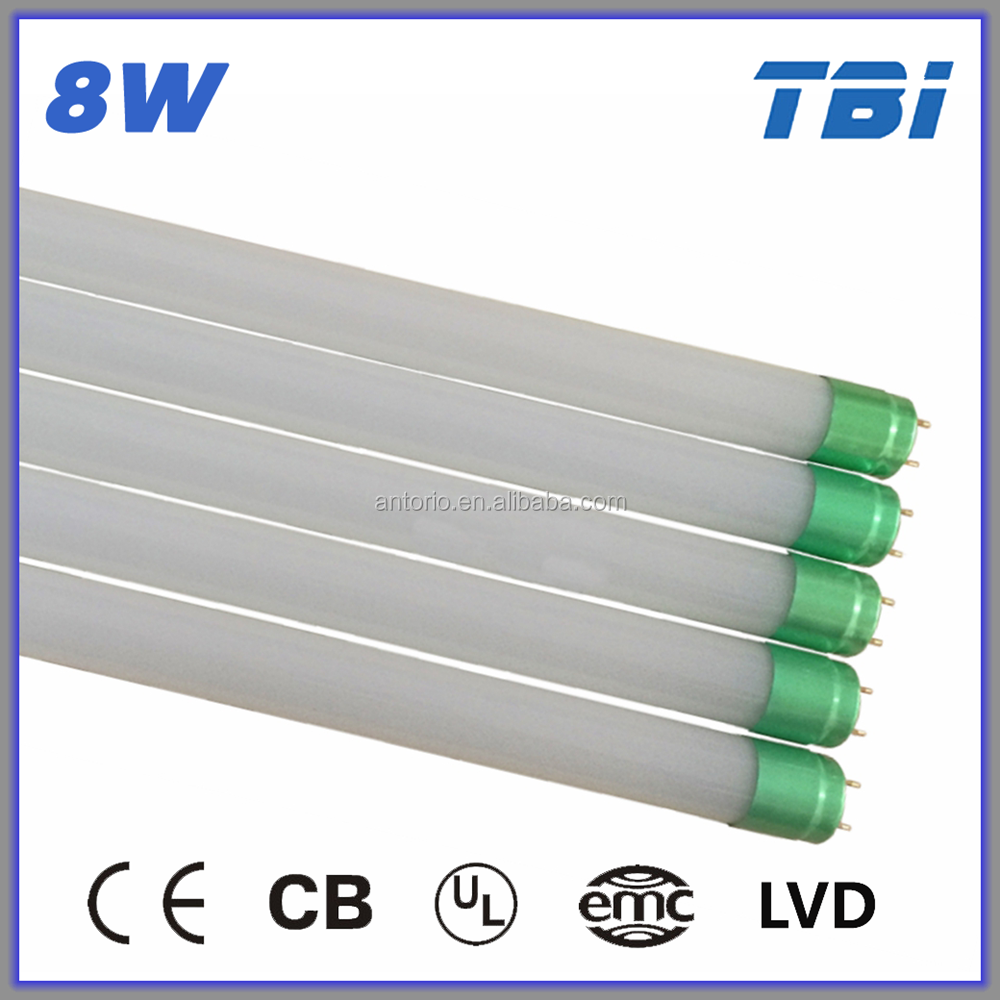 Lowest price 600mm 8 w animal tube free hot sex t8 led tube www red tube com