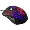 New Design Crack Color high DPI 6D Led Light gaming mouse from factory direct wholesale