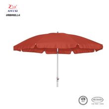 Custom made outdoor promotion beach round sunshade parasol umbrella