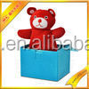 jack in a box--red bear