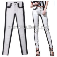 2016 fashion woman denim fabric brand jeans wholesale
