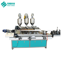 2017 New Tech Smooth ID Inner Diameter PP Melt Blown Spun Water Filter Cartridge Making Machine From WUXI ANGE