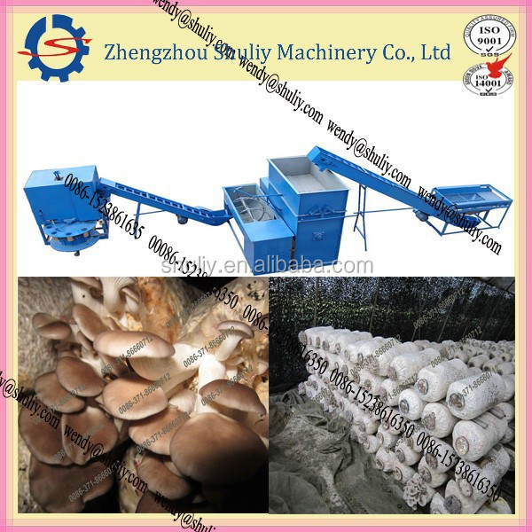 Enoki mushroom growing bag filling machine product line