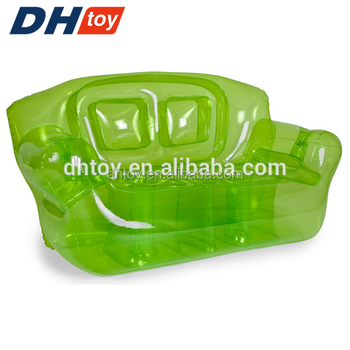hot selling inflatables relaxing green bubble couch sofa