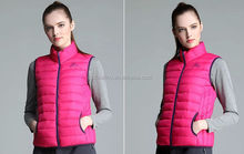 Wholesale women winter ultra-light down vest