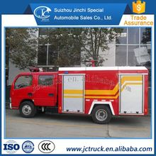 New design 5000Liters water tender fire truck fire fighting truck price