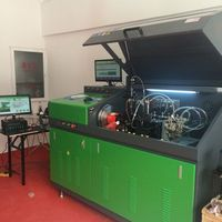 crs-708 common rail test bench BOSCH DENSO electronic injector EURO III high speed test stand
