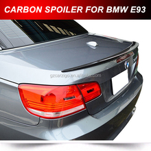 REAL CARBON FIBER TRUNK LIP SPOILER FOR BMW E93 2DRS CONVERTIBLE