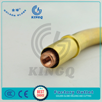 KINGQ tig torch welding swan neck for KEMPPI PMT27 with ce