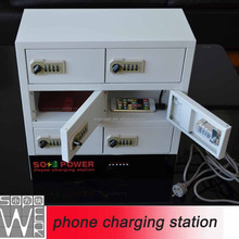 China Sopower Usb PORT coin operated steel <strong>mobile</strong> <strong>phone</strong> lockers