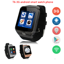 Toplinas cheap android gps smart watch wifi mobile phone T6