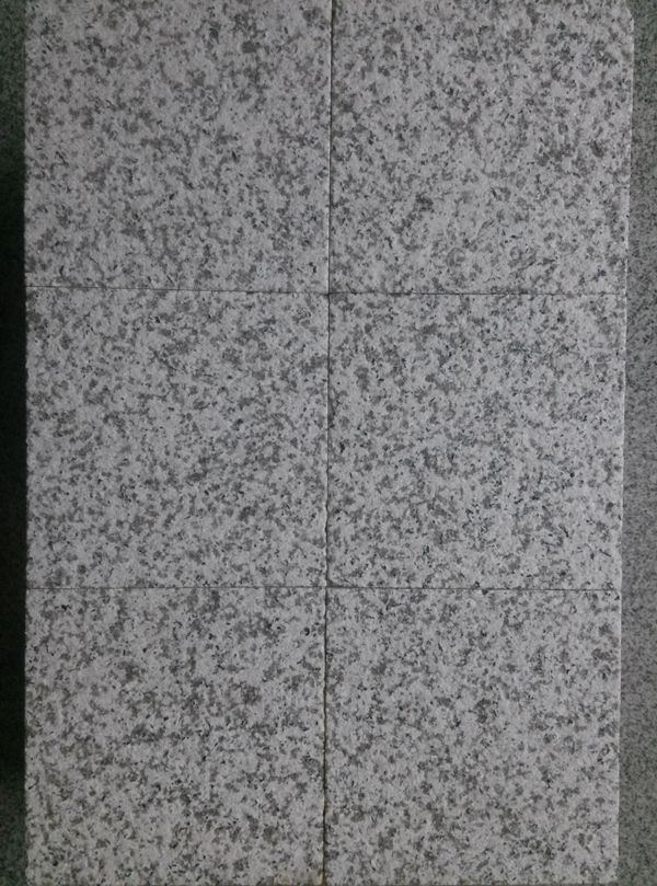China cheap g603 flamed granite