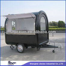 2015 Shanghai JX-FR220B conveniently-used mobile street food kiosk cart for sale
