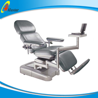 ALS-CE021 Two Motors Control electric blood donation chairs motorized blood donation couch