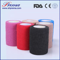 Self adhesive Bandage Medical bandage for Dressing Fixation (FDA/ISO/CE approved)