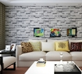 Retro 3D Stone bricks PVC Wallpaper mural Wall Mural TV Bedroom Decor rolls